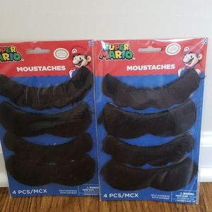 🆕️NEW 8-packs Super Mario Moustaches